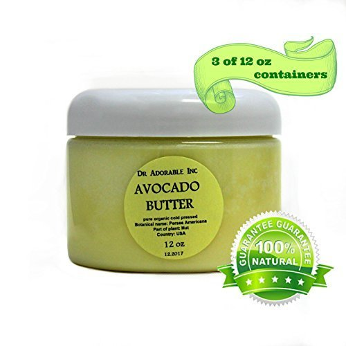 Avocado Butter Pure Raw 36 Oz