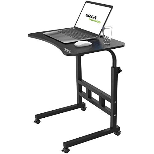 Gizga Essentials Multi-Purpose Laptop Table| Study Table| Bed Table| Adjustable Height, Portable, with Docking for Tablet| Perfect...
