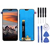 Wangl Nokia Spare LCD Screen and Digitizer Full Assembly for Nokia X6 (2018) TA-1099 / Nokia 6.1 Plus Nokia Spare (Color : Black)