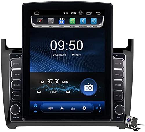 Android 9.1 Pantalla Vertical de 9,7 Pulgadas GPS Navegador Coche para VW Polo 2011-2018 - FM Radio del Coche, Conexión a Internet, Soporte DSP/Llamadas Manos Libres