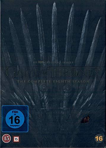 Game of Thrones Staffel 8 - Die finale Staffel [4 DVDs] [Pappschuber] [EU Import mit Deutscher Sprache]