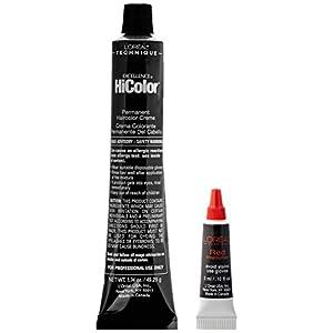 L'Oreal Paris Excellence HiColor Permanent Haircolor, Deep Auburn Red, 1.74 Ounce