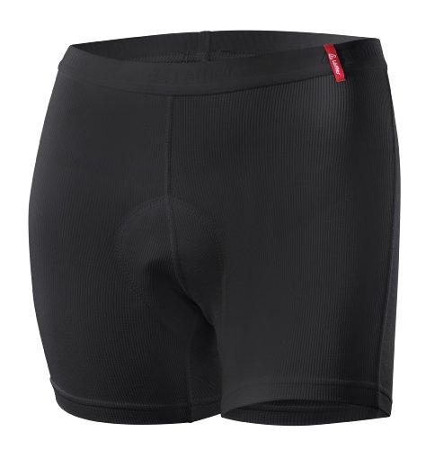 LÖFFLER Damen Radunterhose Transtex Light Unterhose, schwarz, 40