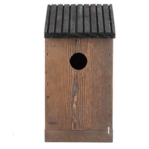 Taidda - Casetta per uccelli sicura, a prova di umidità, robusta e durevole, da appendere, per amanti della natura, per giardino e uccelli all'aperto