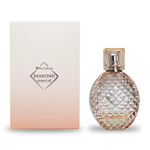 Aristea – Damen Eau de Parfum – Diamond Crystal – blumig-holziges Parfüm für Frauen – unverwechselbarer Duft für Damen – Perfume for Women – 60 ml