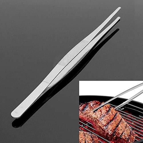 anruo 1 ST BBQ Klem Voedsel Clip Voedsel Clip Keuken Roestvrijstalen Pincet Plastic Clip Grill Cafetaria Gereedschap