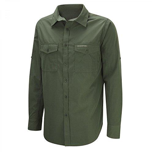 Craghoppers Kiwi Long Sleeved Camisa, Hombre