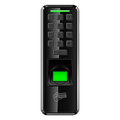 HEQIE-YONGP Timeuhren für Mitarbeiter Kleinunternehmen Biometrische Fingerabdruck-Zeit-Anwesenheits-System Clock Recorder Elektronische Bürozeiterfassung Recorder Timing-Mitarbeiter Maschine Reader