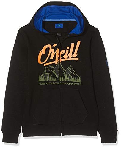 O'Neill PCH California Fz Sweat-Shirt à Capuche pour garçon M Black Out