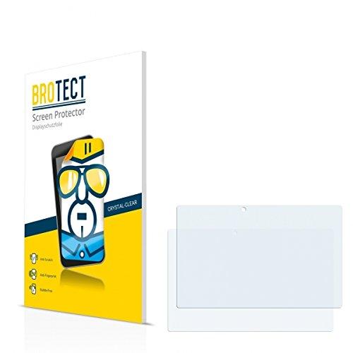 2X BROTECT HD Clear Bildschirmschutz Schutzfolie für Blaupunkt Endeavour TV Seven (kristallklar, extrem Kratzfest, schmutzabweisend)