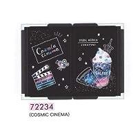 カミオジャパン 拡大鏡付き 三面ミラー コンパクト (72234 COSMIC CINEMA)
