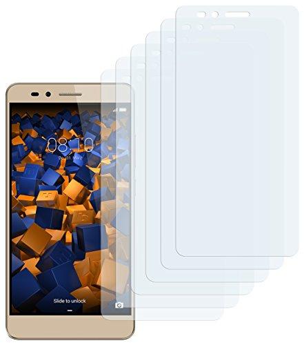 Schutzfolie kompatibel mit Huawei Honor 5X Folie klar, Displayschutzfolie (6X)
