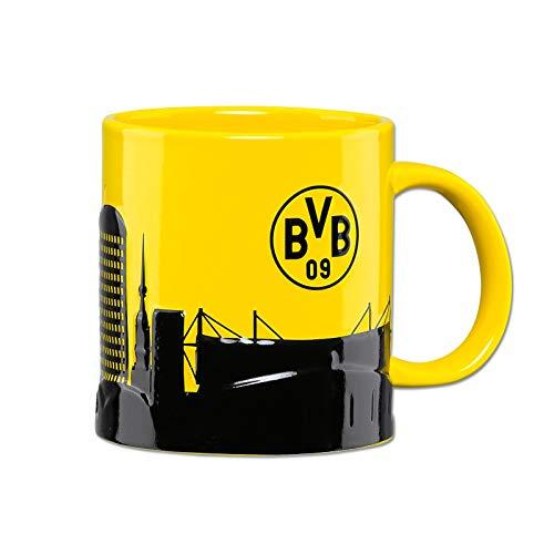 Club Licensed Borussia Dortmund Skyline Tasse Taille Unique Jaune - Jaune