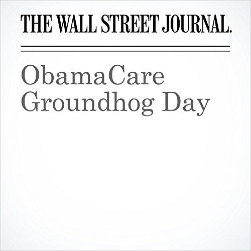 ObamaCare Groundhog Day copertina