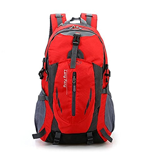 WeiMay Sac à dos Travel Rucksack Waterproof Escalade Sports Daypack Pack de...