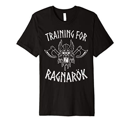Herren Männer Training For Ragnarök Sport Oberteil Kraftsport
