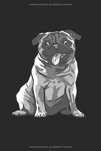 Mops Hunde Mama: Notizbuch Planer Tagebuch Schreibheft Notizblock - Geschenk-Idee für Hundehalter, Hundehalterin, Hunde Fans. Haustier Büro Lustiger ... x 22.9 cm, 6