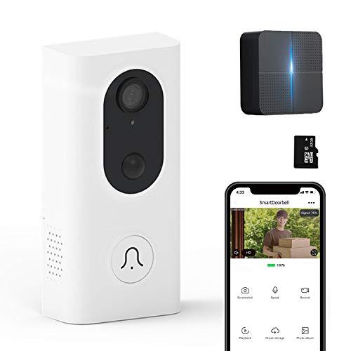 Vídeo-Portero WiFi 32GB Almacenamiento Pre-Instalado,...