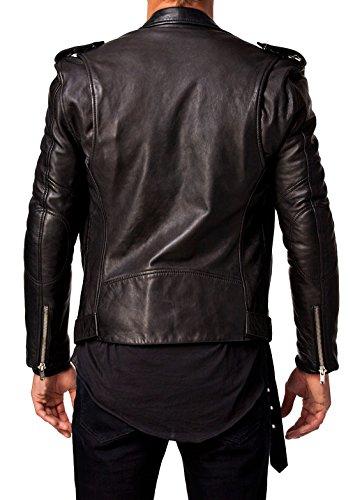 Best Seller Leather Men's Leather Jacket L Black