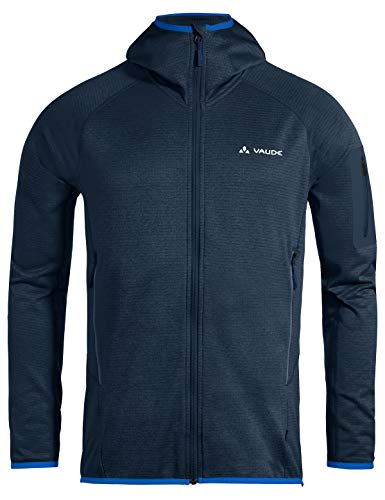 VAUDE Herren Men\'s Back Bowl Fleece Jacket II Jacke, Navy, XL