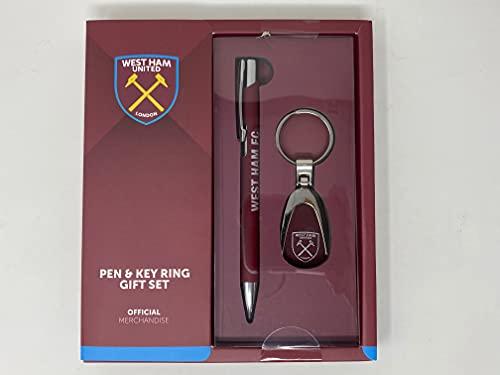 West Ham United Maroon Pen And Keyring Gift Set