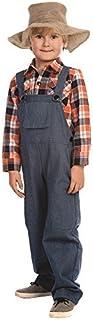 Dress Up America - Disfraz de Granjero para ninos,