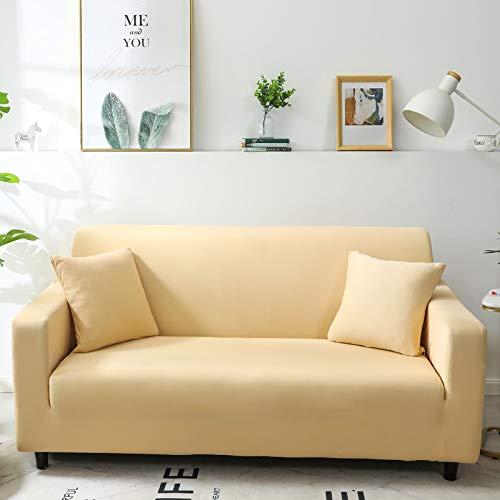 WXQY Fundas Antideslizantes elásticas de Color sólido Funda de sofá Antideslizante Funda de sofá para Mascotas Esquina en Forma de L Funda de sofá Antideslizante A20 1 Plaza