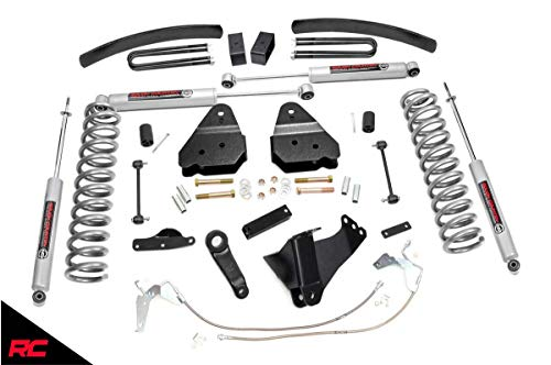 Rough Country 6' Lift Kit (fits) 2008-2010 Super Duty F250 F350 4WD Diesel includes N3 Shocks...