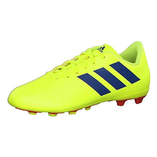 Adidas Nemeziz 18.4 FxG J, Botas de fútbol Unisex Adulto, Multicolor (Multicolor 000), 37.5 EU