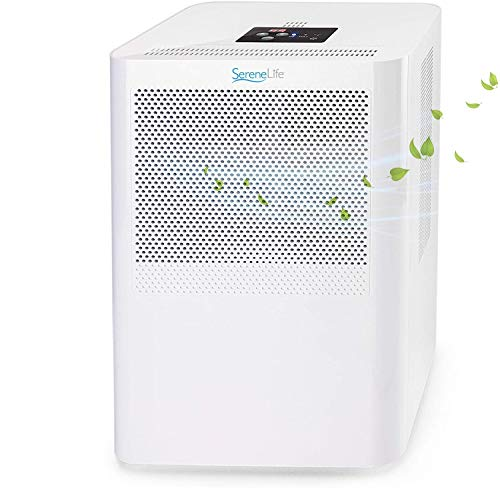 1,500 Sq. Ft Dehumidifier for Medium to Large Rooms and Basements