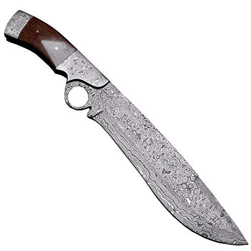 Rasb,1094 - Custom Handmade Damascus Steel Knife - Micarta Handle