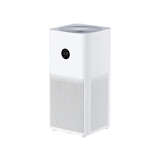 Xiaomi Mi Air Purifier 3C Purificatore d'Aria, Filtro HEPA, Area di copertura 106m²/h, Controllo tramite Google Assistant, Alexa e Mi Home, Display LED, Bianco, Versione italiana