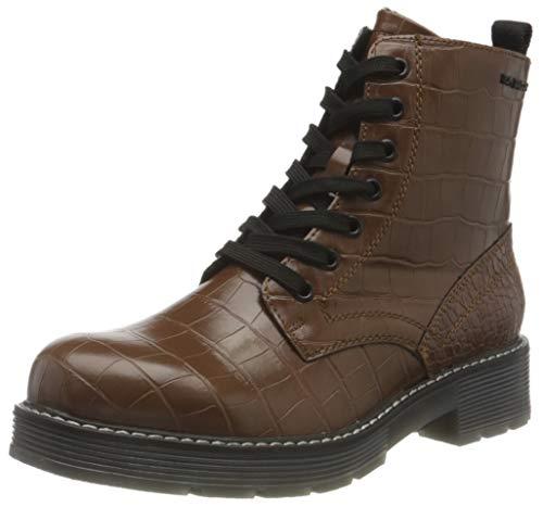 Tom Tailor Womens 9093505 Mid Calf Boot Bootie Boot, Brown, 4.5 UK