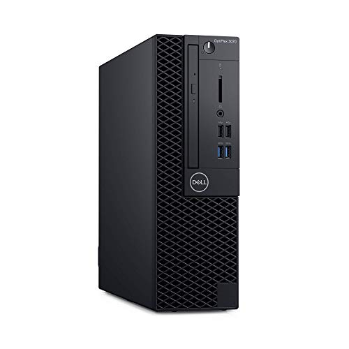Dell Optiplex 3070 complete pc, zwart, Windows 10 Pro 64-bit