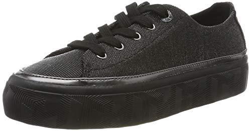 Tommy Hilfiger Damen Kelsey 8d Sneaker, Schwarz (Gunmetal 0gq), 39 EU