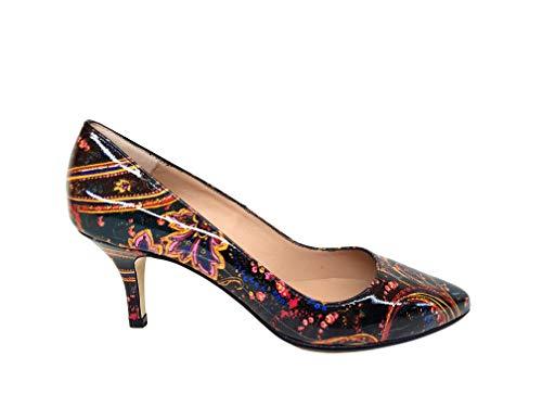 Punta Fina Cerrada Zapatos de Piel para Mujer con Tac/ón 6 cm Gennia ISORBO