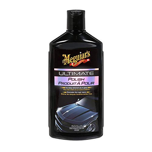 Meguiar's Ultimate Polish - Prepare The Surface for Car Wax - G19216C