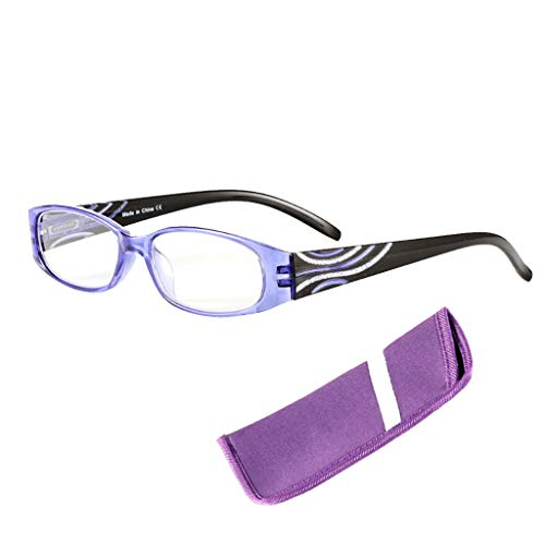 Eliky Sterke leesbril, lezer, uniseks, onbreekbare hars Presbyopie.