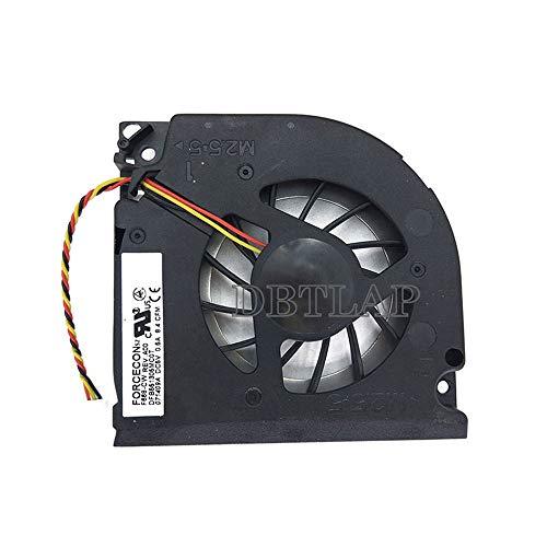 DBTLAP Ventilador de la CPU del Ordenador portátil para Acer Aspire 5730ZG 5930 5930G 7000 7100 7110 9300 9400 CPU enfriamiento Ventilador