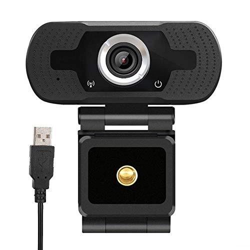 Laptop HD 1080P Ingebouwde Microfoon Webcam, Computercamera voor Live Webcast, Heldere Kwaliteit Slimme Ruisonderdrukking Webcamera voor TV/PC/Laptop, voor Videoconferentie/Thuisstudie