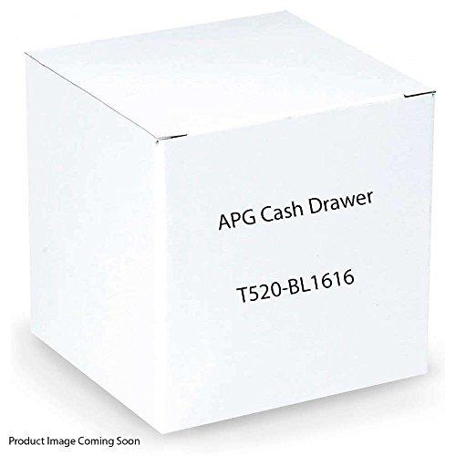 APG Cash Drawers APG, S100, Cash Drawer 16X16 520 Interface Black T520-BL1616 Apg S100 Cash Drawer