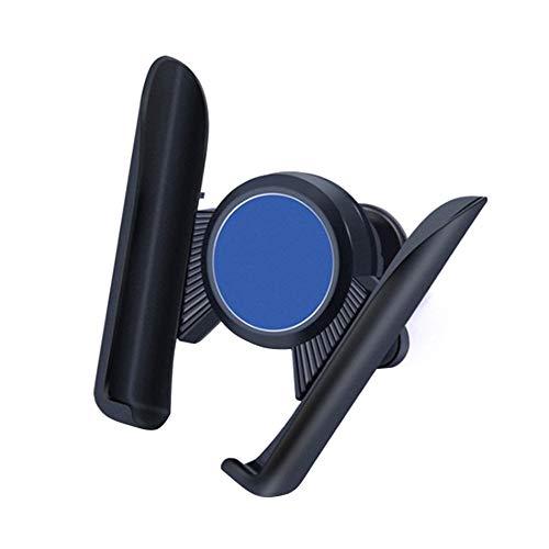 360 Titular de rotación for el teléfono en el Coche Aire Montaje de la Salida Soporte del teléfono Rojo Porta Móvil Coche (Color : Blue)