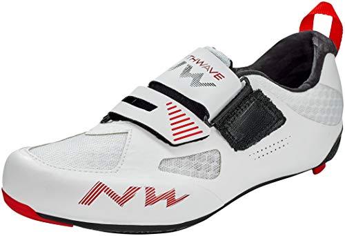 Northwave Tribute 2 Carbon - Zapatillas para bicicleta de carretera, color blanco, talla 39