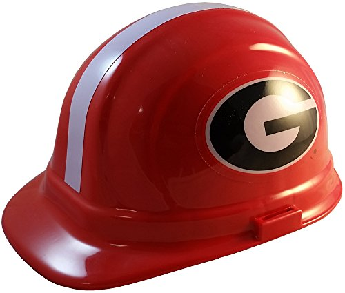 Wincraft NCAA College Ratchet Suspension Hardhats - Georgia Bulldogs Hard Hats