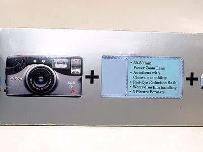 Nikon Nuvis 75I Zoom Sucherkamera APS 240 Kamera