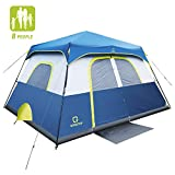 QOMOTOP Camping Tents, 8 Person Instant Set Up Within 1 Minute...