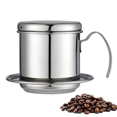 Mankoo Juego De Filtros De Café Vietnamita, Cafetera Vietnamita Conocida, Acero Inoxidable...