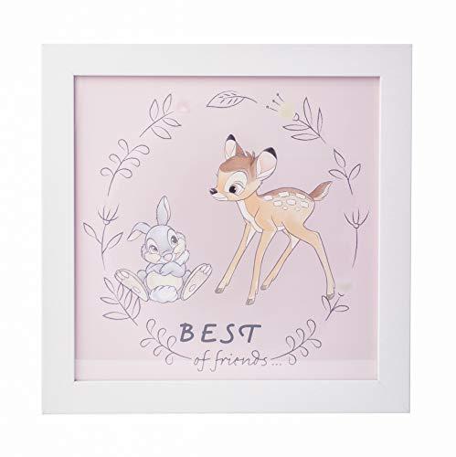 Grupo Erik PE30X30CM0002 Cuadro Infantil Disney Bambi, 30x30 cm, Bambi