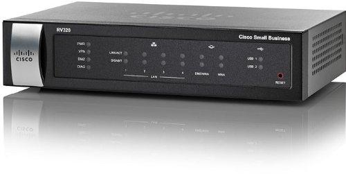 CISCO RV320 Dual WAN VPN Router USB 3G/4G modem support
