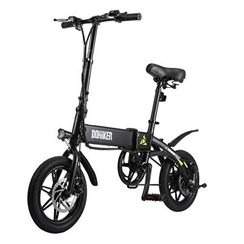 Dohiker Vélo électrique Pliant eBike Montagne Vélo Vélomoteur Li-ION Batterie 7.5Ah 36V 14...